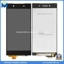 Оригинальный ЖК-дисплей с сенсорным экраном с рамкой для Xperia Сони Z5