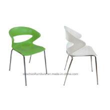 Chaise empilable en plastique de conception spéciale pour le bureau