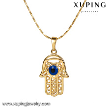 32797 xuping fashion 18K gold plated big crystal colorful charm pendant