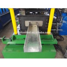 Boa qualidade Preço Mude o tamanho Moldura do telhado CZ Seção do canal U Forma Purling Roll formando máquina para venda