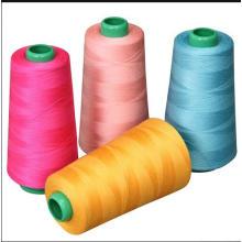 100% gesponnenes Polyester-Nähgarn-Garn