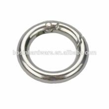 Hot Style Metal Spring Round Ring Nickel