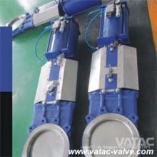 Pneumatisch betriebenes Wcb-Wafer-Plattenventil