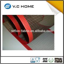LFGB FDA Certificate Non Stick PTFE teflon coated fiberglass mesh conveyor belt