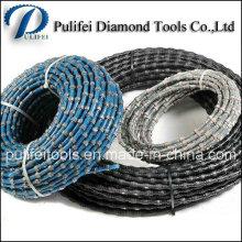 Renforcer la partie de scie à fil de diamant en béton pour la coupe de la pierre