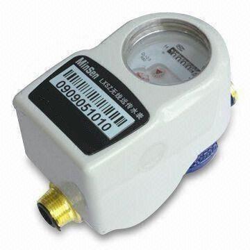 Medidor de água inteligente com controle de válvula remota sem fio
