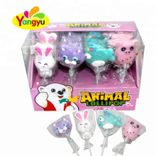 Newest Animal Shape Hard Lollipop Sweet Confectionery Supplies