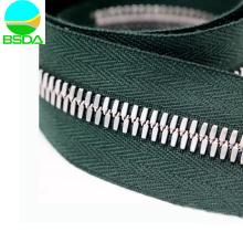 Double Way Stainless Steel Corn-style Teeth Zipper