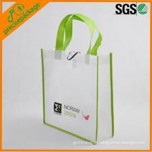 bolso de compras no tejido reutilizable eco de calidad superior de la marca