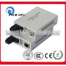 Preço de fábrica 100M / 1000M Media Converter Single Mode Fiber Converter oferta