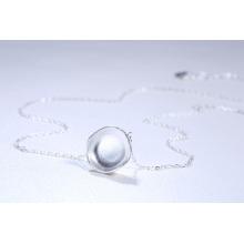 Nueva Corea diseño simple 990 joyería de plata al por mayor