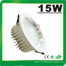 Lámpara LED Dimmable 15W LED Down Luz LED Luz