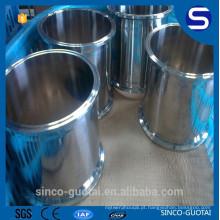304 316 carretel de tubo de braçadeira de aço inoxidável sanitário