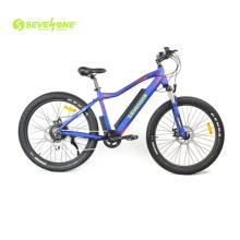 26 Inch Fat Tire Electric Bike with 48V 500W Rear Motor