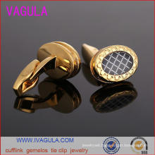 VAGULA Hot Sale Bouton Men Shirt Cuffs Gemelos Cufflinks (L51919)