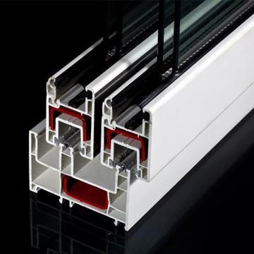 80mm/88mm Sliding PVC Profile For uPVC Windows