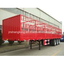 13 Meters Three Axles 50ton Cargo Box Trailer