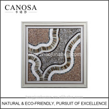CANOSA shell with Ox horn handicraft Wall Picture frame