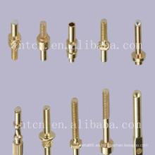 Clavijas de contacto de cobre de fabricación China