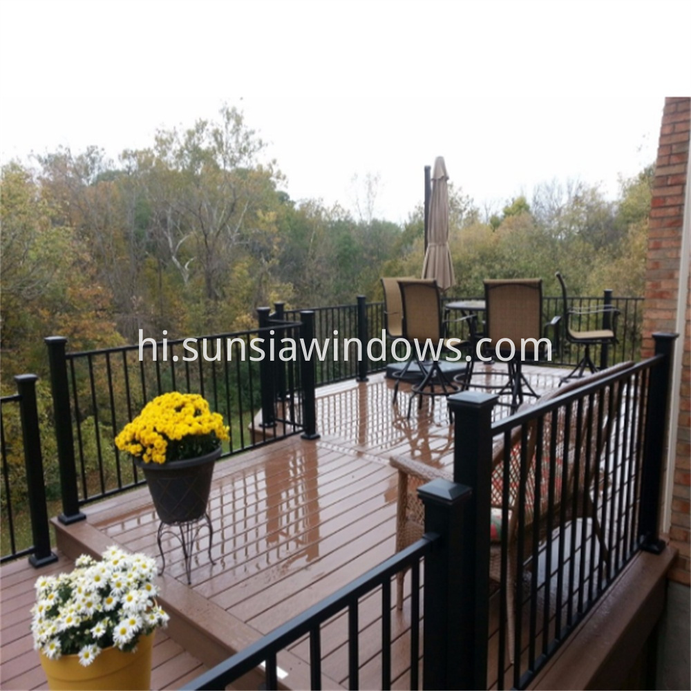 aluminum privacy fencing