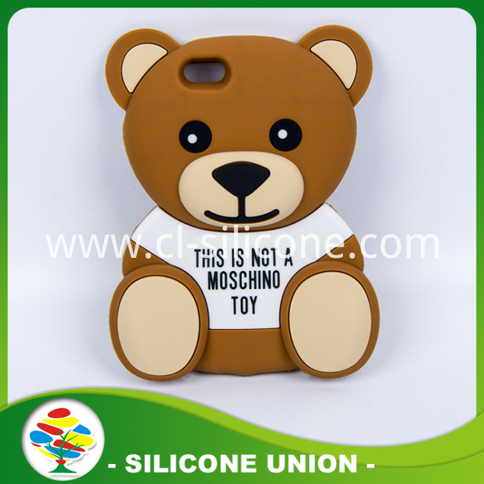 Little Bear Eco-friendly Silicone Cellphone Case