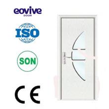 Matériau écologique utilisé portes membrane PVC