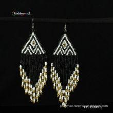 National Style Handmade seed bead earring