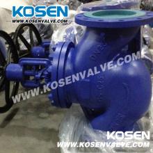 Fundición de acero DIN fuelle sellado válvula de globo (WJ41)