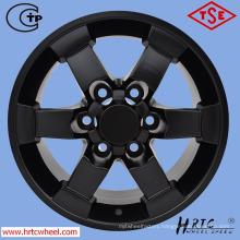 matt black replica alloy wheels for SUV cars