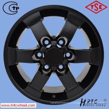 Колесные диски из матовой черной реплики для внедорожников