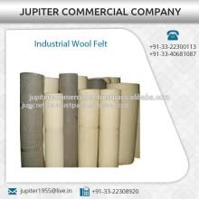 Reißfestes Wollfilz für industriellen Einsatz in verschiedenen Größen erhältlich