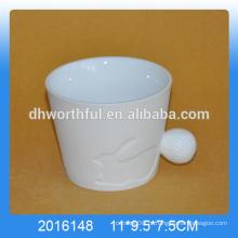 Caneca bonito do coelho da porcelana, copo do coelho da porcelana, caneca animal da porcelana
