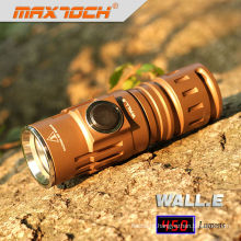 Maxtoch WALL.E EDC Tactical Mini Solar Power Led Flashlight
