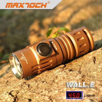 Maxtoch WALL.E EDC Tactical Mini Solar Power Led Flashlight