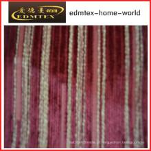Tecido liso do Chenille para a embalagem do sofá nos rolos (EDM0219)