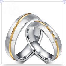Schmuck Zubehör Edelstahl Schmuck Finger Ring (SR589)