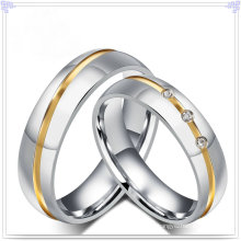 Joyería accesorios de acero inoxidable joyas anillo de dedo (SR589)