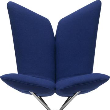 Angel chair swivel arm chair by Busk + Hertzog