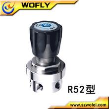 El mejor del regulador de la presión de aire del material del SS con el calibrador