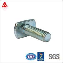 Tornillo en T de acero al carbono galvanizado
