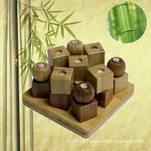 Bambus Pädagogische Nudeln und Kreuze