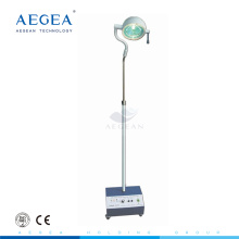 AG-LT009 stand operating theatre lights four silent castors with brakes