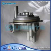 Steel marine valve body