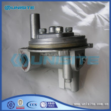 Steel marine valve body