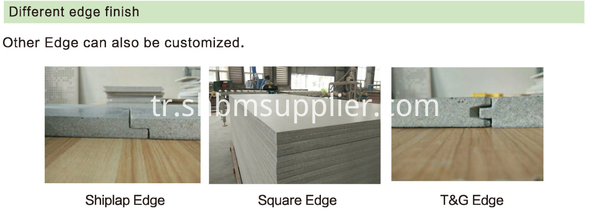 Fireproof Magnesium Oxide Wall Panel