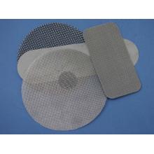 Disque de filtre fritté à couche unique