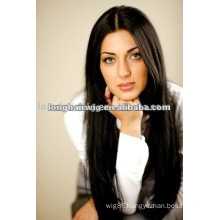 Comfortable straight hair 100% real hair lace wigs