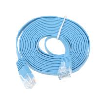 RJ45 connector Cat6 UTP Flat patch cable