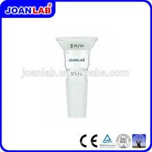 Adaptador de vidro JOAN Lab com junta de soquete esférico superior