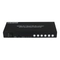 Comutador Sem Fio Splitter HDMI 4X1 Quad Multi-Viewer